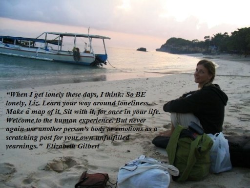 Elizabeth Gilbert Quote from Eat Pray Love
