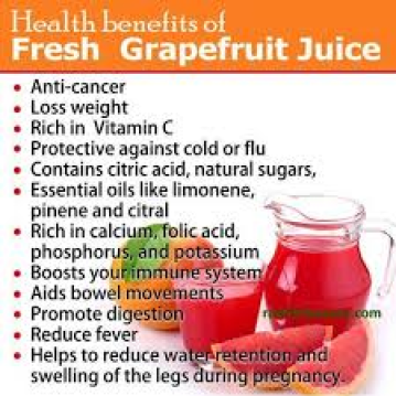 dr oz grapefruit juice