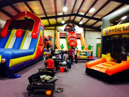 Olivers birthday house of bounce