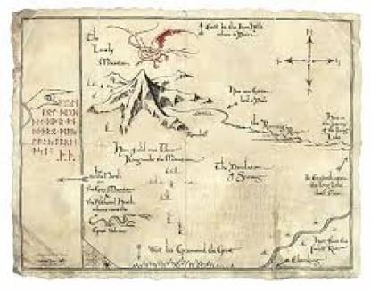 Journal for the Journey Thorins map
