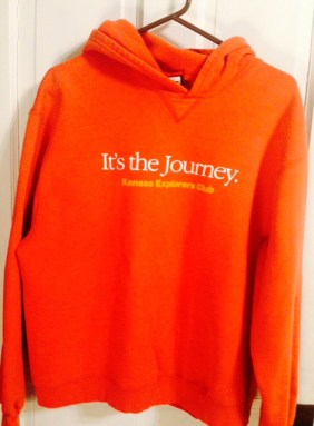 dinner with Cate Journey hoodie