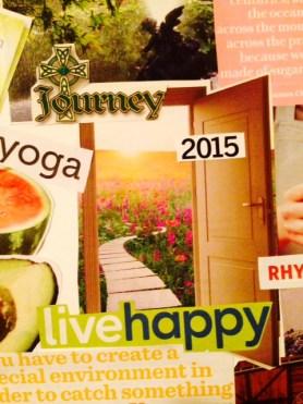 vision board 2015 open door and journey
