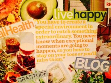 vision board 2015 quote