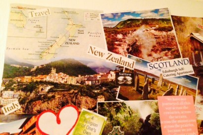 vision board 2015 travel