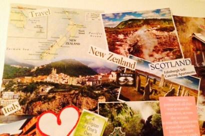 vision board 2015 travel