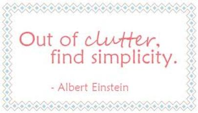 moving energy out of clutter find simplicity