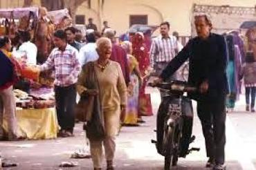 second best exotic marigold hotel evelyn and douglas