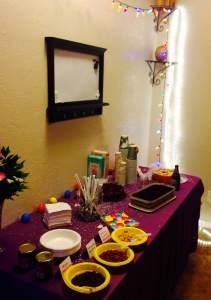 Cates birthday dessert table