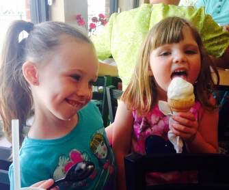 girls day ice cream