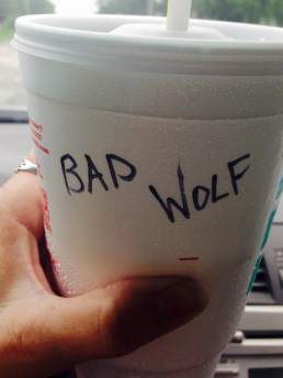 bad wolf cup