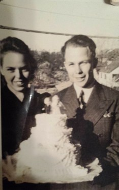 Bob Moore wedding day