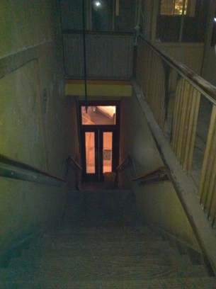 ghost hunters opera house staircase