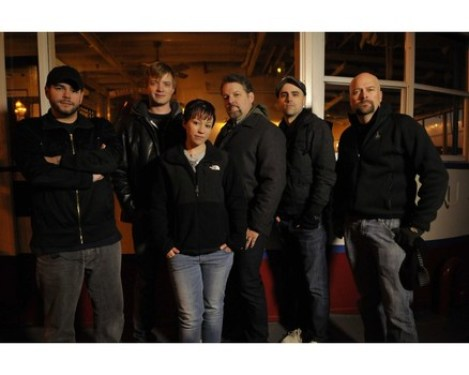 ghost hunters team