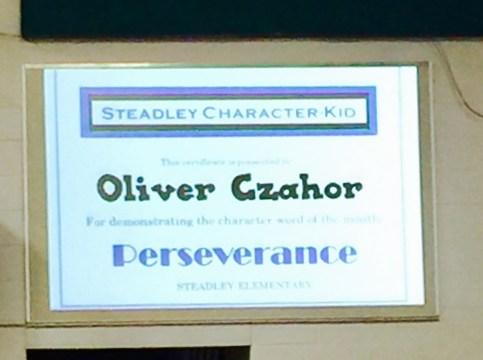 Character Kid Award