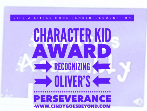 Character Kid Award