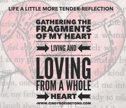 Gathering the Fragments of My Heart