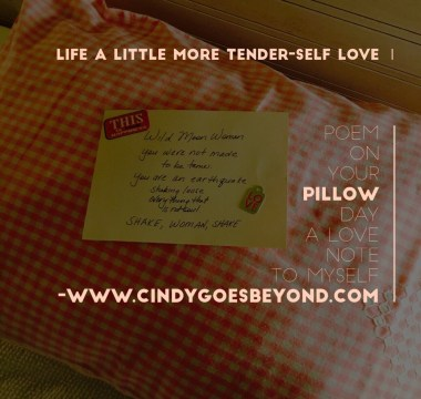 Poem on Your Pillow Day