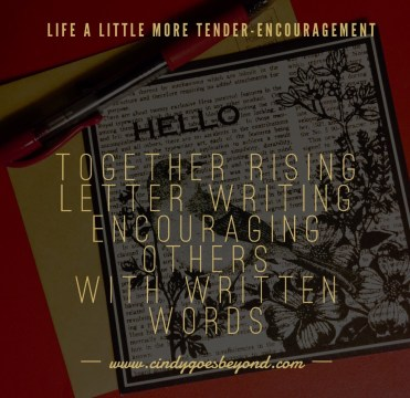 Together Rising Letter Writing