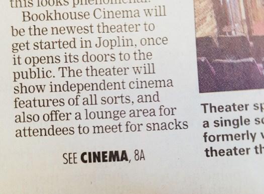 Bookhouse Cinema