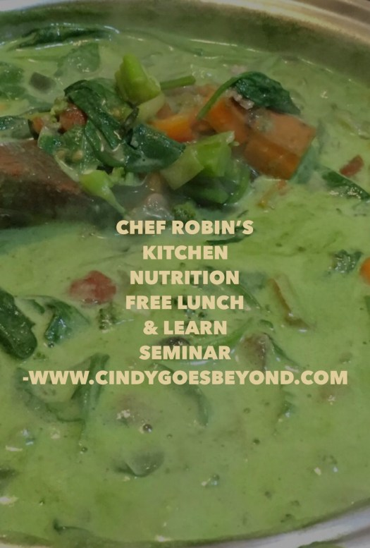 Chef Robin's Kitchen Nutrition