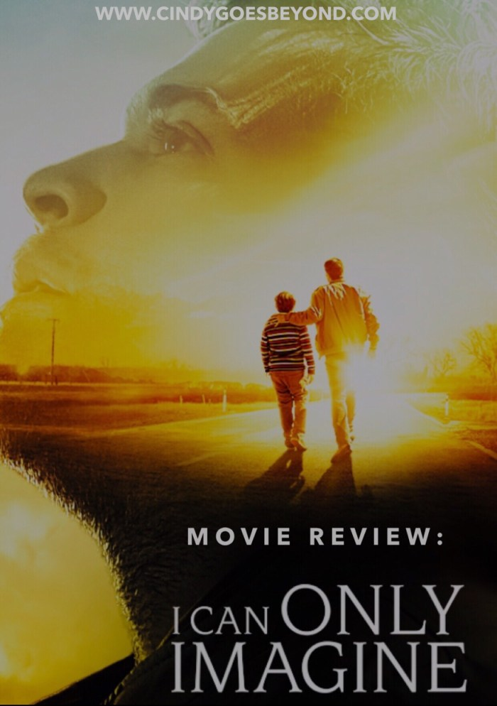 Movie Review I Can Only Imagine