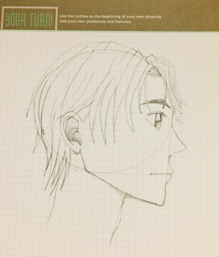 Manga Teen Boy Profile