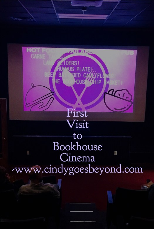 First Visit to Bookhouse Cinema
