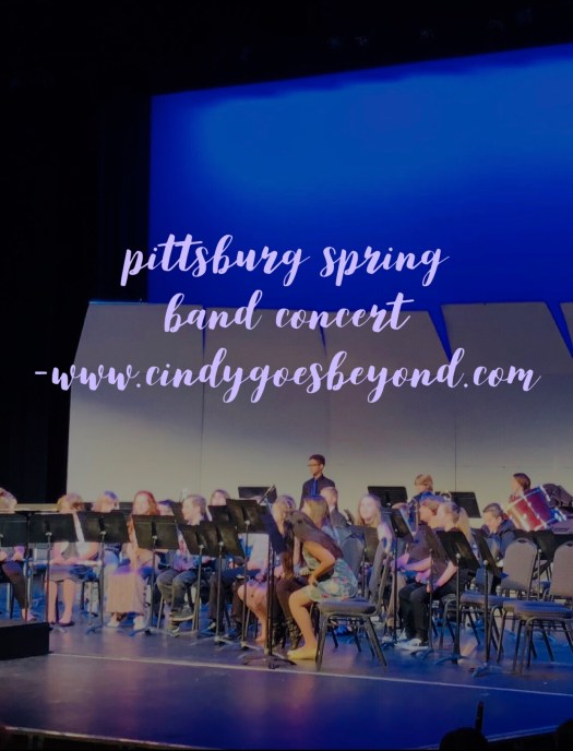 Pittsburg Spring Band Concert