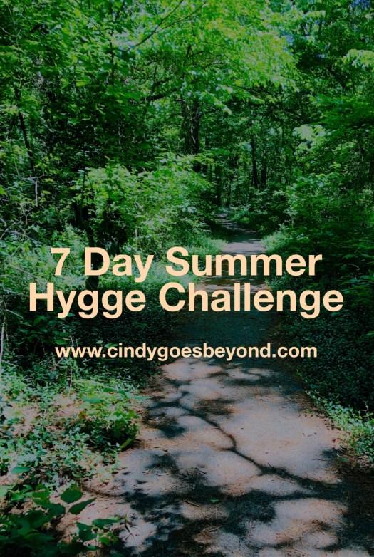 7 Day Summer Hygge Challenge