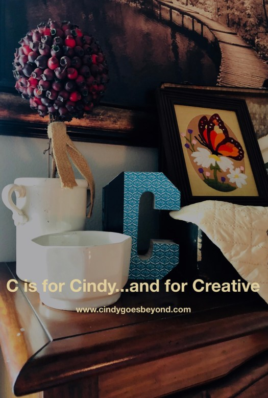 C is for Cindy and for Creative