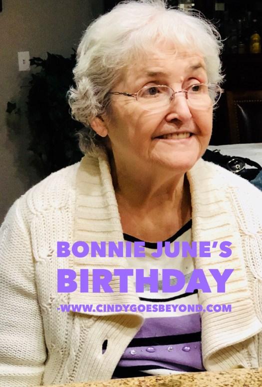 Bonnie June's Birthday