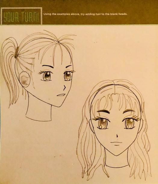 Manga Hair - Girls
