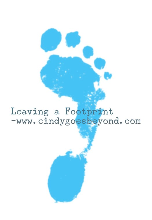 Leaving a Footprint