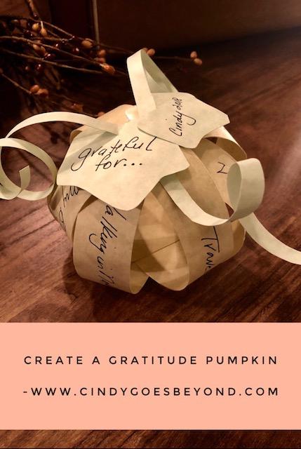Create a Gratitude Pumpkin