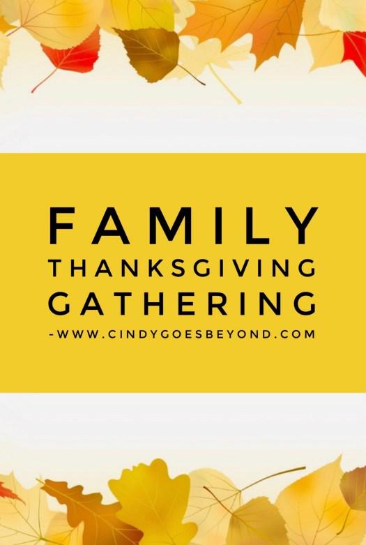Family Thanksgiving Gathering