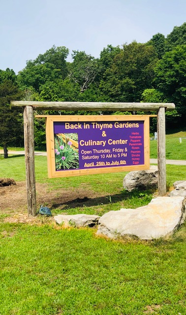 Back in Thyme Gardens & Culinary Center