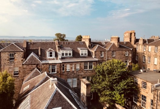 Window View on Thistle Street