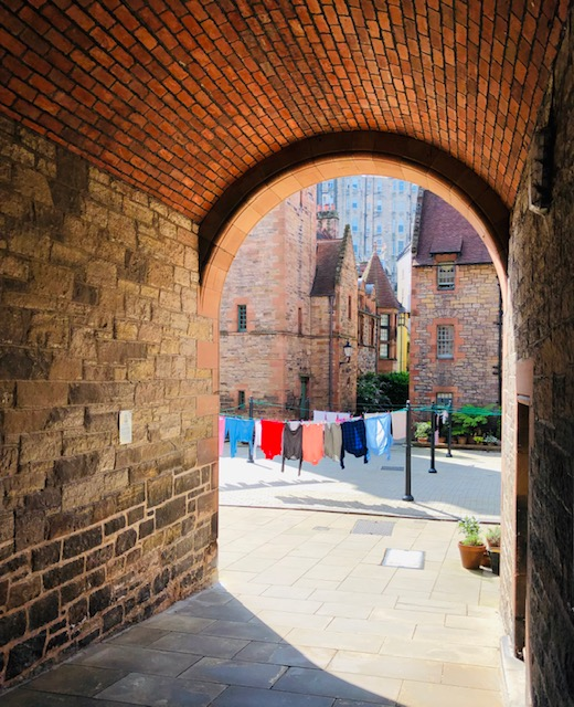 Laundry in Dean Village