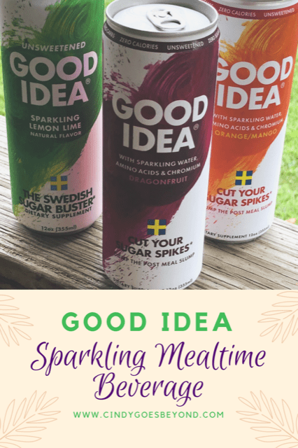 Good Idea Sparkling Mealtime Beverage title meme
