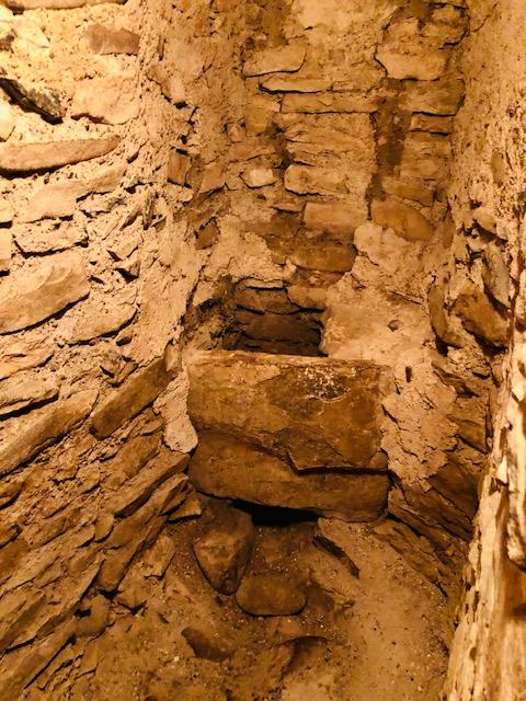 Original indoor toilet in Traquair