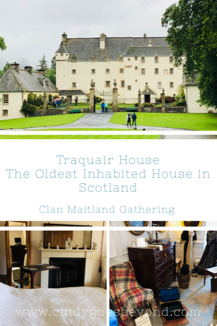 Traquair House Title Meme