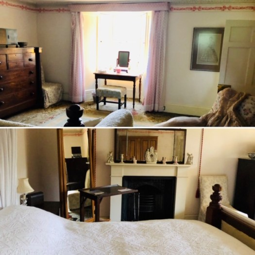 White Bedroom Traquair House