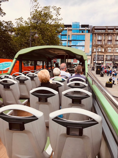 Wanding Through Edinburgh on Hop On Hop Off Buses