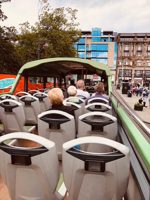 Wanding Through Edinburgh on Hop On Hop Off Buses