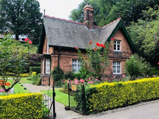 Wandering Through Edinburgh Princes Street Garden Cottage