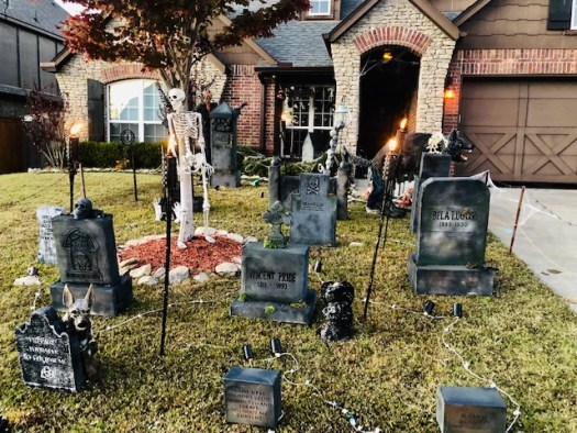 Classic Monsters Cemetery