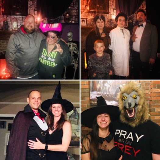 Classic Monsters Halloween Party Guests 2