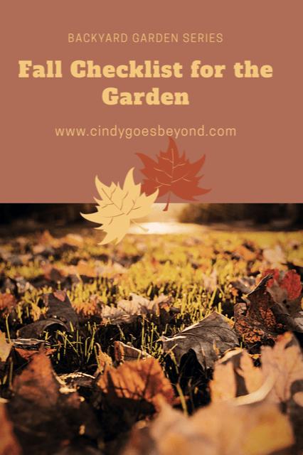 Fall Checklist for the Garden title meme