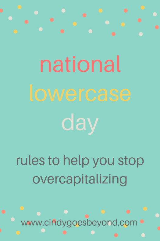 national lowercase day title meme