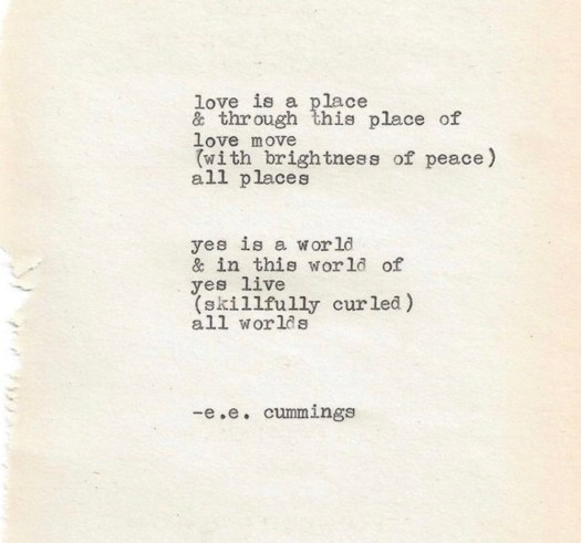 national lowercase day ee cummings poem